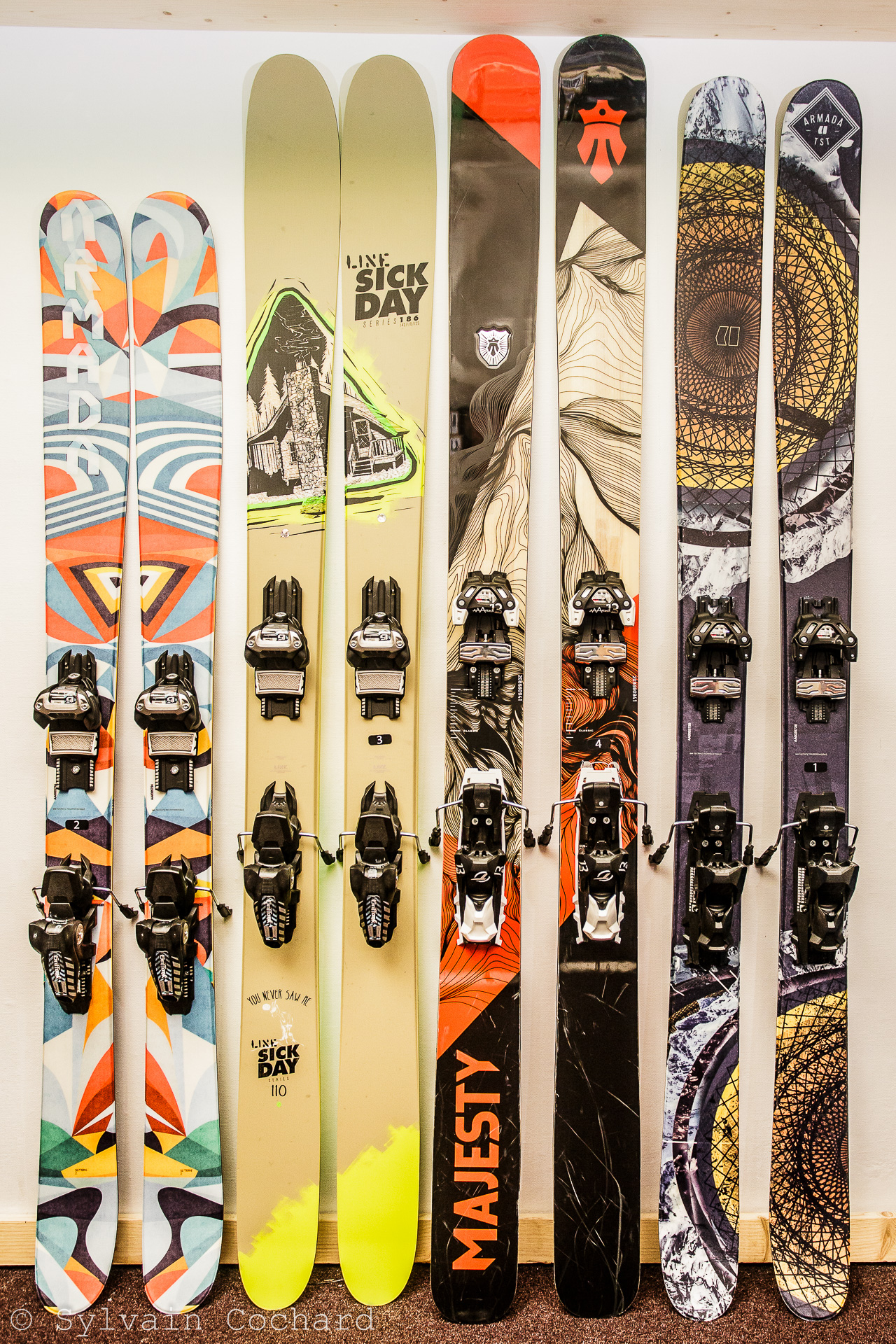 Skis - Noir (Pack total)